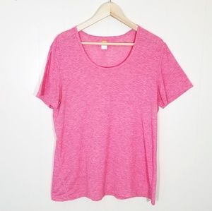 Lucy Athletic Pink Tee